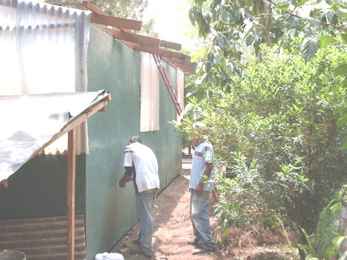 dismantling the old clinic
